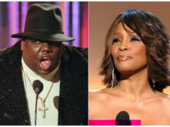Notorious BIG and Whitney Houston (AP)