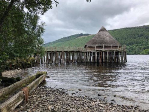 The Scottish Crannog Centre is to receive funding (Emma O'Neill/PA)