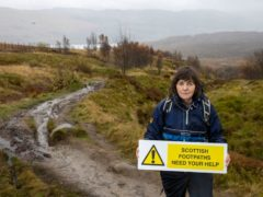 Paths at Ben Lawers have suffered damage (National Trust for Scotland/PA)