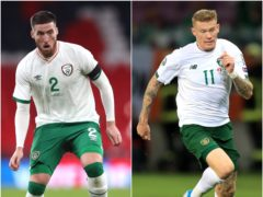 Matt Doherty (left) and James McClean (right) are out of the Republic of Ireland's Nations League clash with Bulgaria (Nick Potts/Simon Cooper/PA)