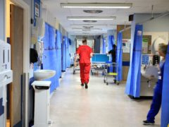 The Scottish Government is facing calls to urgently address NHS workforce issues (Peter Byrne/PA)