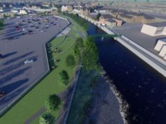 Funding has been awarded to sustainable transport projects, including a cycle route in Hawick (Transport Scotland/PA)