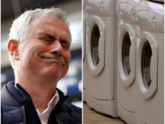 Jose Mourinho was distracted by a reporter's washing machine (John Walton/Phil Noble/PA)