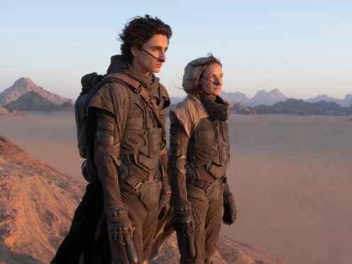 Sci-fi film Dune is among the Warner Bros films that will arrive on the HBO Max streaming service at the same time as in theatres in the US (Chiabella James/PA)