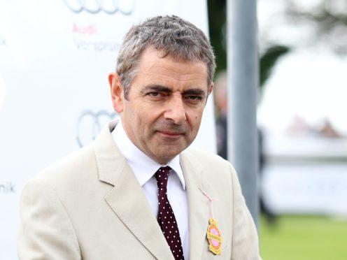 Rowan Atkinson co-created Man Vs Bee (PA)