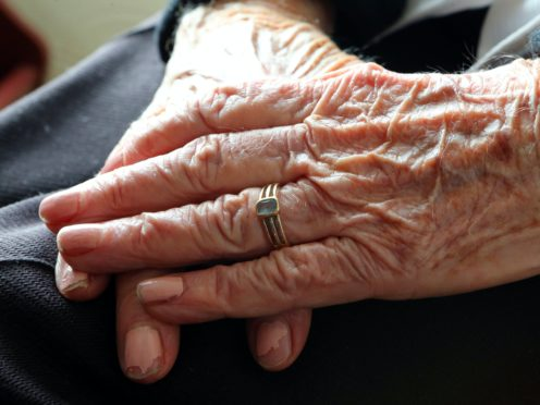 Lateral flow testing will be trialled at some care homes from next week (Peter Byrne/PA)