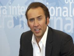 Nicolas Cage will present a show about swear words for Netflix (Myung Jung Kim/PA)