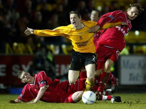 David McNamee helped Livingston beat Aberdeen in their most recent win in 2004 (Maurice McDonald/PA)