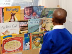 More young people from ethnic minority backgrounds than from white backgrounds do not see themselves in what they read, at 40% compared with 30.5%, according to the study (John Stillwell/PA)