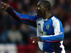 Andy Cole spent two and a half years with Blackburn (Jon Super/PA)