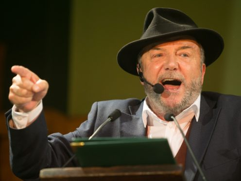 Queen of the South have apologised over George Galloway's attendance (Daniel Leal-Olivas/PA)