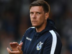 Walsall manager Darrell Clarke was pleased with his side's display in the win at Oldham (Joe Giddens/PA)