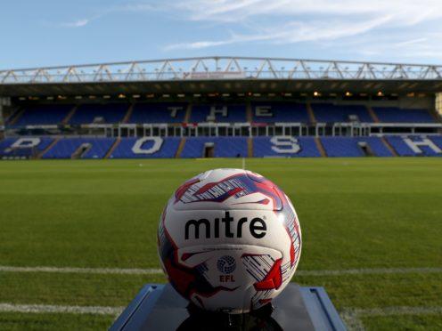 Peterborough had been set to host Ipswich on Saturday (Simon Cooper/PA)