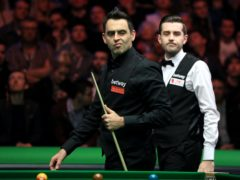Ronnie O'Sullivan (left) and Mark Selby accused each other of gamesmanship after the Scottish Open final (Mike Egerton/PA)