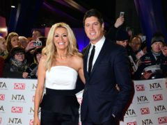 Tess Daly and Vernon Kay (Ian West/PA)