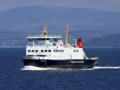 CalMac managing director Robbie Drummond has thanked staff for their 'support, understanding and commitment' during the pandemic (Graham Wilson/Caledonian MacBrayne/PA)