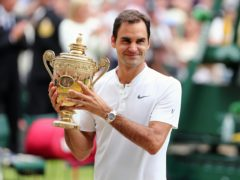 Roger Federer is prioritising being fit in time for Wimbledon (Gareth Fuller/PA)