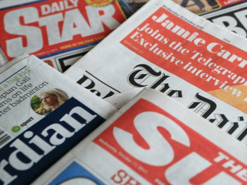 What the papers say – December 28 (PA)