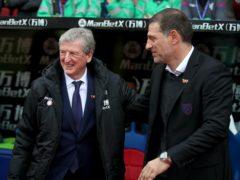 Roy Hodgson's Crystal Palace face Slaven Bilic's West Brom on Sunday (John Walton/PA)