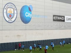 Manchester City have returned to training (Peter Byrne/PA)