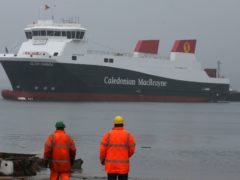 The two vessels will now be delivered by 2022 and 2023 (Andrew Milligan/PA)