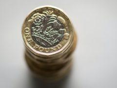 British one pound coins (Dominic Lipinski/PA)