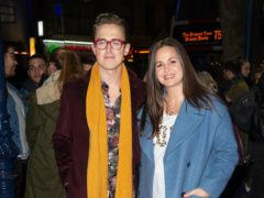 Tom and Giovanna Fletcher (Matt Crossick/PA)