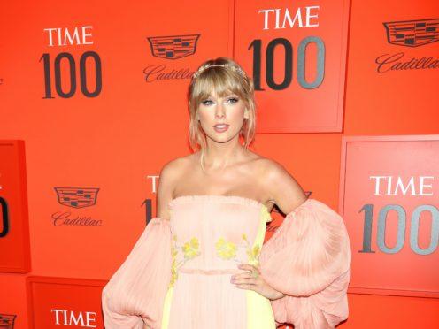Taylor Swift has opened up on writing music with her British boyfriend Joe Alwyn (Greg Allen/PA)
