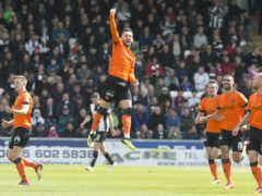 Nicky Clark scored a late equaliser for Dundee United (Jeff Holmes/PA)