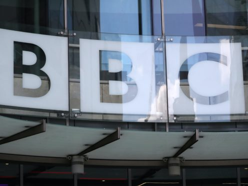 The BBC has apologised after broadcasting a snippet of footage of an online High Court hearing without permission (Jonathan Brady/PA)
