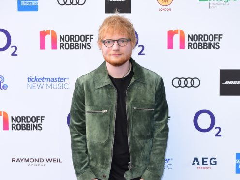 Ed Sheeran (Ian West/PA)