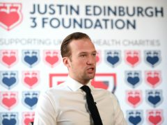 The Justin Edinburgh 3 Foundation, founded by Charlie Edinburgh, will donate automated external defibrillators to Marine, Newport and the Essex Community First Aid Events group (Joe Giddens/PA)