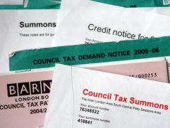 The details mean the UK has seen the highest property taxes in six of the last 10 years, based on OECD data (Johnny Green / PA)