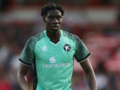 Elijah Adebayo struck the winner for Walsall at Oldham (Nick Potts/PA)