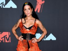 Pop star Halsey has apologised after sharing a picture from when she was battling an eating disorder (PA)
