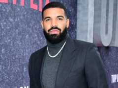 Drake was a popular choice (Ian West/PA)