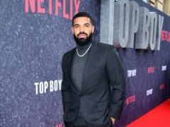 Spotify has released its most popular artists, songs and albums of the year, with Canadian megastar Drake topping the UK list (Ian West/PA)