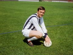 Jeff Astle died aged 59 in 2002. The inquest recorded a verdict of death by industrial disease (PA)