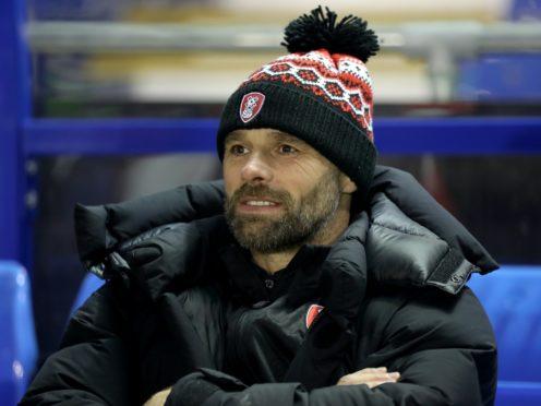 Rotherham boss Paul Warne has seen his team's last two fixtures postponed (Bradley Collyer/PA)