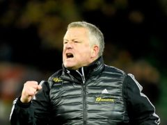 Chris Wilder thinks keeping Sheffield United in the Premier League this season will be the greatest achievement of his managerial career (Joe Giddens/PA)