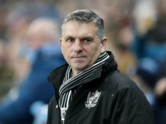Port Vale manager John Askey cut a relieved figure after masterminding a big win (Martin Rickett/PA)