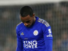 Leicester defender Ricardo Pereira will be out for another two weeks with the groin injury he sustained on his comeback appearance (Tim Goode/PA)