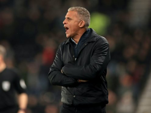 Keith Curle is aiming to end Northampton's poor run (Mike Egerton/PA)