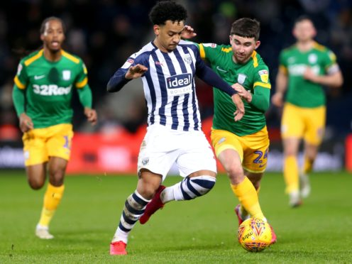 Sam Allardyce will be without Matheus Pereira (centre) for his first match in charge of West Brom (David Davies/PA Images).