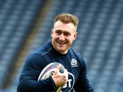 Stuart Hogg wants Scotland to finish the year on a high (Ian Rutherford/PA)