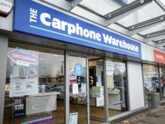 Carphone Warehouse disappeared from UK high streets in 2020 (Liam McBurney/PA)
