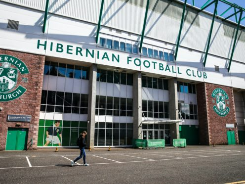 Hibernian have expanded their board (Andrew Milligan/PA)