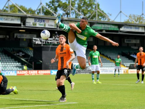 Courtney Duffus scored twice for Yeovil (Ben Birchall/PA)