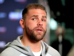 Billy Joe Saunders faces Martin Murray on Friday night (Mike Egerton/PA)