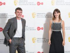 Normal People stars Paul Mescal and Daisy Edgar-Jones (Dominic Lipinski/PA)